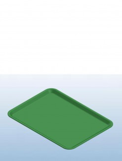 Green Dietary Trays - Daily Aids/Kitchen Aids