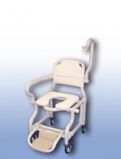 Large deluxe mobile shower chair - Bathroom Safety/Shower Chairs & Seats