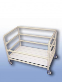 Laundry collection trolley - Professional/Trolleys/Laundry Trolleys