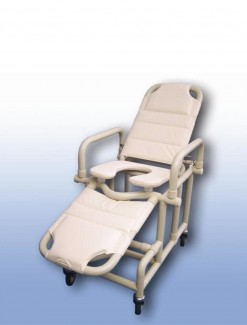 Mobile shower recliner - Bathroom Safety/Shower Chairs & Seats