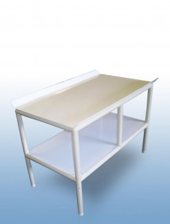 Static laundry folding table - Professional/Trolleys/Laundry Trolleys