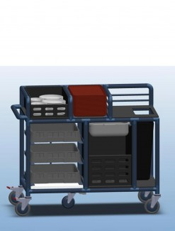 Table Clearing Trolley - Professional/Trolleys/Modified Trolleys