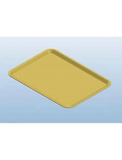 Yellow Dietary Trays - Daily Aids/Kitchen Aids