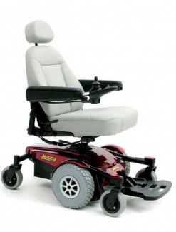 Pride Jazzy Select 6 Power Chair - Power Wheelchairs/Outdoor Use