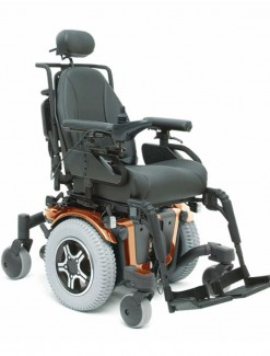 Pride Quantum 600 Scripted Power Chair - Power Wheelchairs/Outdoor Use