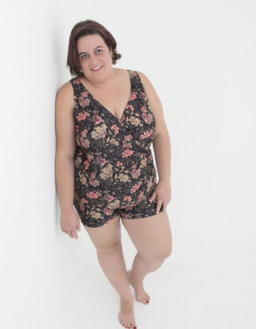SlipOn plus sizes in Adaptive Clothing/Womens/Women's Swimsuits