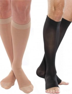 Venosan 4001 Below Knee With Self Supporitng Plain Top - Pressure Care/Compression Stockings & Socks