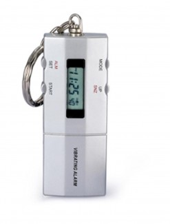 Vibrating Key Chain Alarm Clock - TTKR-T01 - Medication Aids/Medication Reminders & Alarms